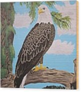 Freedom's Pride Wood Print