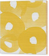 Freesia Splash Wood Print