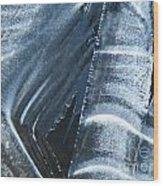 Freezing Point Wood Print