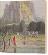 Freias Garden, 1906 Wood Print