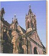 Freiburg Gothic  Wood Print