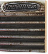 Freightliner Highway King Wood Print