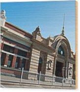 Fremantle Train Station Wood Print