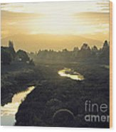Fremont Dawn Wood Print