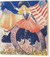 French Bar Ad 1890 Wood Print