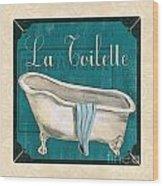 French Bath Wood Print