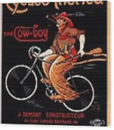 French Bicycles Wood Print