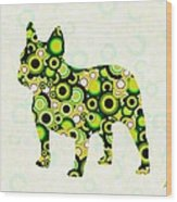 French Bulldog - Animal Art Wood Print