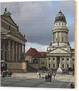 French Cathedral And Concert Hall - Berlin  Wood Print