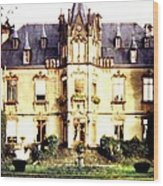French Chateau 1955 Wood Print
