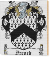 French Coat Of Arms Irish Wood Print