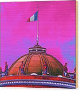 French Dome Art Wood Print