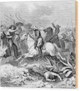 French Expedition General Mirandol Wood Print