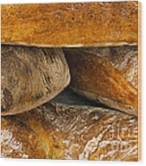 French Loaves Wood Print