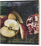 French Postcard Wood Print