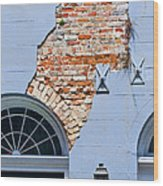 French Quarter Architecture Wood Print