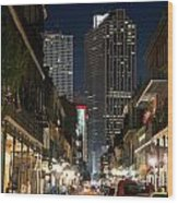 French Quarter New Orleans Louisiana Wood Print