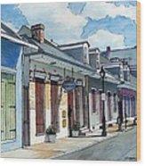French Quarter Street 211 Wood Print