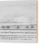 French Squadron, 1778 Wood Print