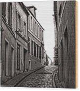 French Street Wood Print