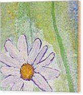 Fresh As A Daisy 1. Wood Print