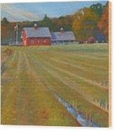 Fresh Cut Adams Farm Wood Print