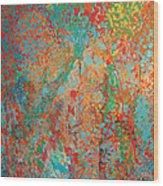 Fresh Dots Wood Print by Gabe Arroyo