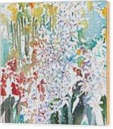Fresh Pick No.380 Wood Print by Sumiyo Toribe