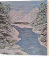 Fresh Spring Water Wood Print
