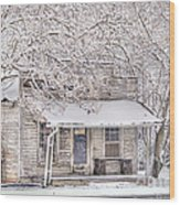 Freshwater Grocery Wood Print by Benanne Stiens