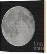 Friday The 13th Full Moon Wood Print
