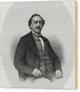 Friedrich Von Flotow  German Musician Wood Print