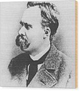 Friedrich Wilhelm Nietzsche In 1883 Wood Print