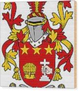 Friel Coat Of Arms Irish Wood Print