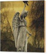 Friend Of An Angel Wood Print