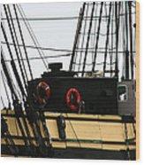 Friendship Of Salem Rigging Wood Print