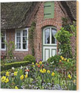 Frisian House Wood Print