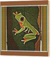 Frogtown Wood Print