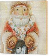 frohe Weihnachten Wood Print