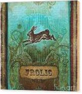Frolic Wood Print