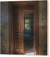 From A Door To A Window Wood Print