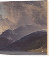 From Balestrand At The Sognefjord Wood Print