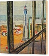 From Cape Henry Lighthouse Wood Print
