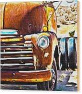 From Tucson To Tucumcari Wood Print