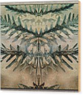 Frond Embrace Wood Print