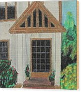 Front Door 1 Wood Print