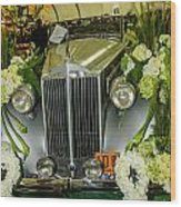 Front Of '36 Packard Wood Print