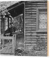Front Porch Wood Print by Mel Steinhauer