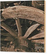 Frontier Travel Wood Print