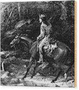 Frontiersman, 19th Century Wood Print